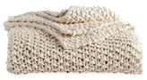 DKNY Pure Chunky Knit Throw Blanket