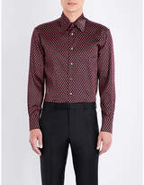 Brioni Teardrop Silk Shirt