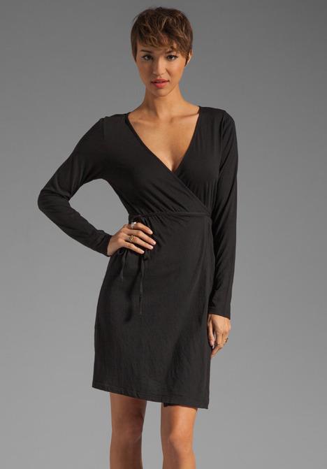Bobi Supreme Jersey Long Sleeve Dress