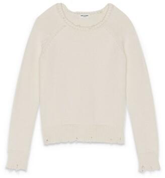 Saint Laurent Distressed Sweater
