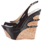 Gianmarco Lorenzi Platform Wedge Sandals