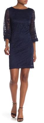 Sandra Darren Sleeveless Lace Dress