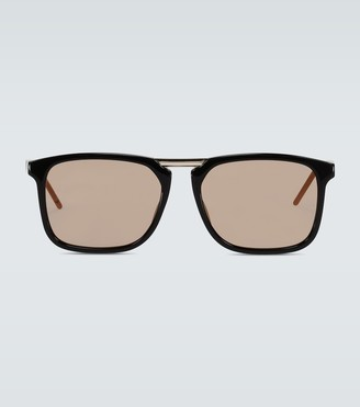 Gucci Square-framed acetate sunglasses
