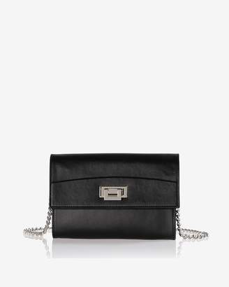 Express Joanna Maxham Leather Trophy Chain Shoulder Bag