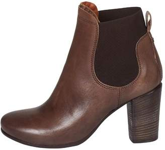 Lady Doc Heeled, Ankle, Brown
