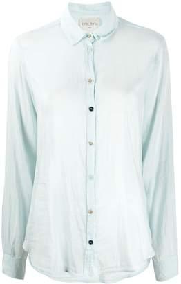 Forte Forte sheer long-sleeve blouse