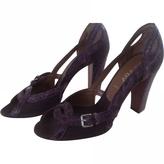 Prada Purple Heels