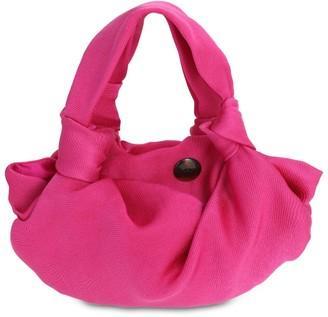 The Row Mini Ascot Satin Bag
