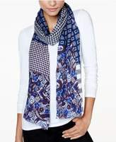 Echo Paisley Patch Oblong Scarf