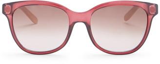 Salvatore Ferragamo 55mm Plastic Cat Eye Sunglasses