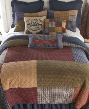 American Heritage Textiles Lakehouse Cotton Quilt Collection, King