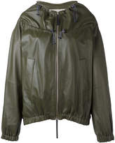 Marni drawstring neck jacket