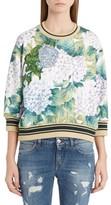 Dolce & Gabbana Women's Hydrangea Print Sweatshirt
