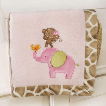 Carter's Jungle Jill Boa Blanket