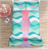 Triangle Home Fashion Mermaid Ruffle Comforter Set