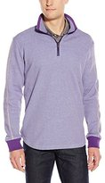Robert Graham Men's Prescott Long Sleeve Knit 1/4 Zip