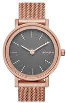 Skagen Women's 'Hald' Mesh Strap Watch, 26Mm