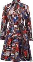 Marni Lectric Print Shirt Dress