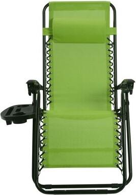 Zero Gravity Arcade Reclining/Folding Chair Freeport Park Color: Green