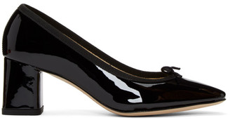 Repetto Black Patent Nastasia Heels