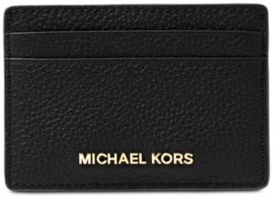 Michael Kors Michael Pebble Leather Card Holder