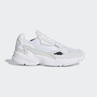 adidas Originals White Falcon Sneaker - Cloud White / Cloud White / Crystal White | 36 2/3 (UK4)