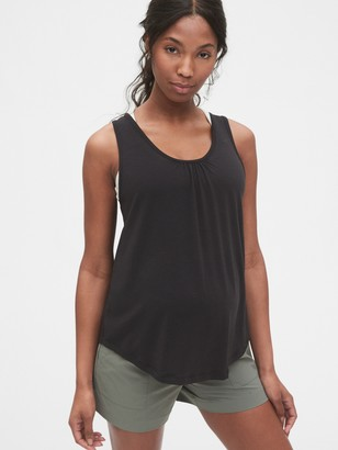 Gap Maternity Breathe Scoopneck Tank Top