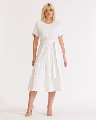 Veronica Beard Trail Tiered Dress