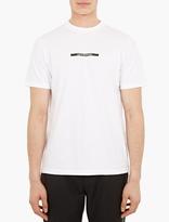 Oamc White Printed Cotton T-Shirt