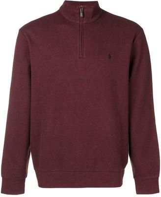 Ralph Lauren quarter-zip sweater