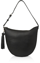 Whistles Ivy Tassel Slouchy Leather Hobo