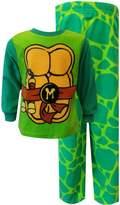 American Marketing Enterprises INC Teenage Mutant Ninja Turtle Look Alike Fleece Toddler Pajama Set for boys
