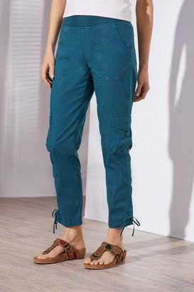 Petites Summer Fun Cargo Pants