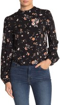Abound Floral Print Long Sleeve Blouse