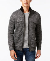 Tasso Elba Men's Zip Front Textured Jacket, Only at Macy's
