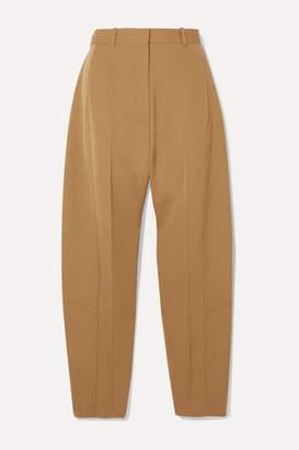Victoria Beckham Wool-twill Tapered Pants - Tan