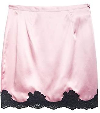 Fleur Du Mal James Lace Skirt (Sweet Pea) Women's Skirt