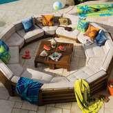 Outdoor Cushy Circle Set