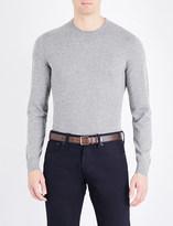Ralph Lauren Purple Label Crewneck knitted cashmere jumper