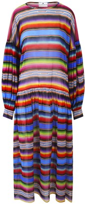 Klements Dusk Dress In Marfa Sunset Print