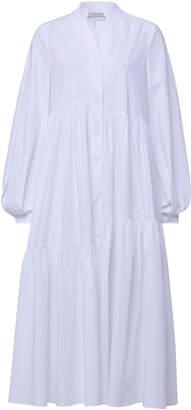 Schumacher Dorothee Cotton-Blend Poplin Midi Dress