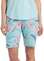 Jockey Women's Pajamas: Marakesh Floral Bermuda Shorts
