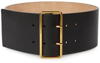 Alexander McQueen Leather Military Belt