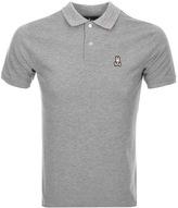 Psycho Bunny Anniversary Polo T Shirt Grey