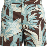 Valentino Palm tree-print swim shorts