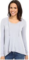 Culture Phit Antonella French Terry Hooded Long Sleeve Top