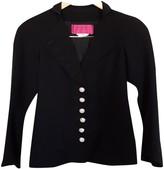 Christian Lacroix Navy Cotton Jacket for Women Vintage