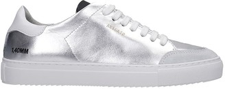 Axel Arigato Clean 90 Sneakers In Silver Leather