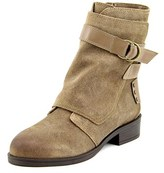 Fergie Neptune Round Toe Leather Mid Calf Boot.