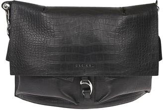 Orciani Croc-skin Effect Shoulder Bag